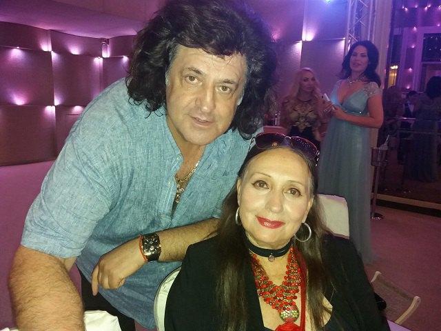 Иво Бобул и Лариса Кадочникова