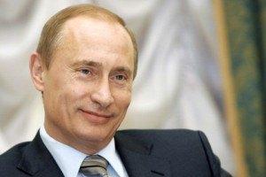 Путин накормил журналистов из золотых тарелок