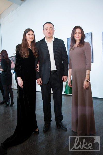 Гия и Анна Шеварнадзе, Оксана Фандера