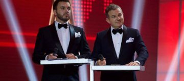 """Украинские селебритис покрасовались на красной дорожке 22-й премии """"Человек года"""""""