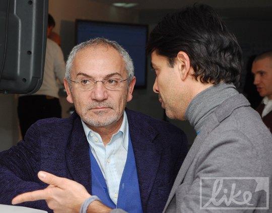 Савик Шустер и Валид Арфуш