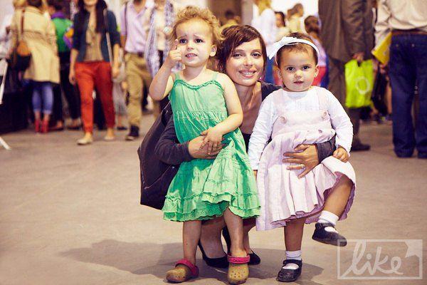 Певица Ирена Карпа с детьми