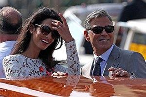 Клуни и Аламуддин сыграют еще одну свадьбу для Питта и Джоли