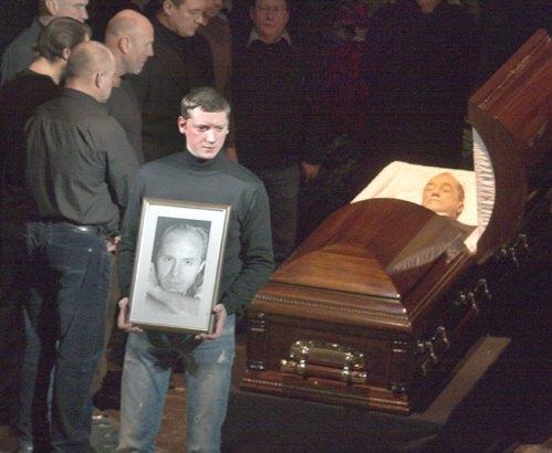 Похороны Андрея Панина