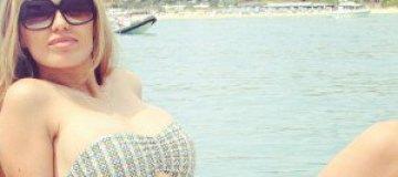 Виктория Боня похвасталась фигурой в Монако