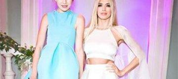 Дочь Веры Брежневой снялась для украинского Vogue