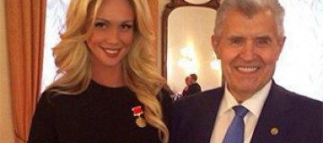 Российская модель получила Правительственную Медаль