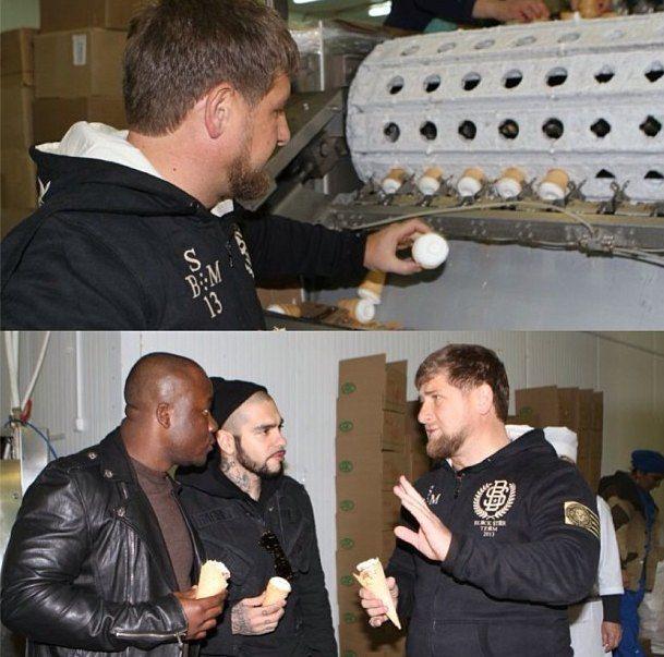 Тимати и Рамзан Кадыров ночью поели мороженого