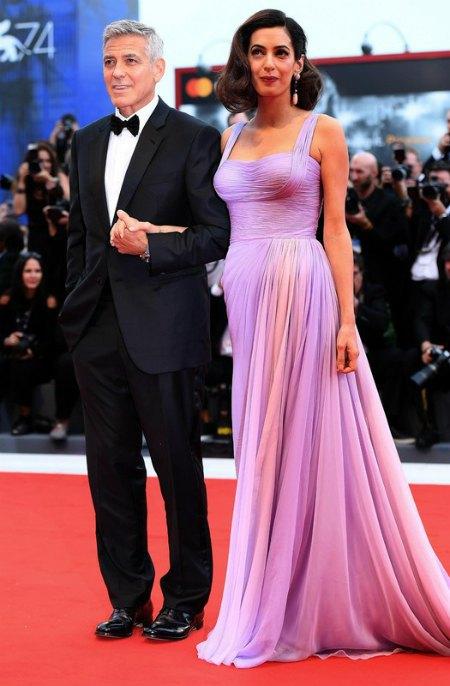Обозреватели отметили прекрасную форму Амаль Клуни