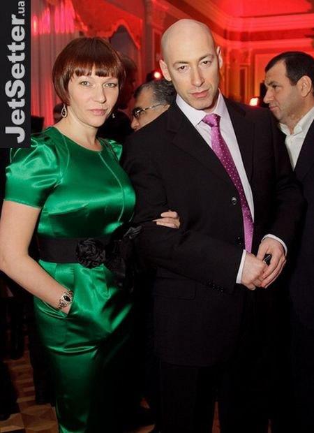 Дмитрий Гордон с супругой Еленой Сербиной
