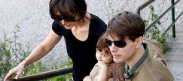 Сури Круз тяжело переживает развод родителей