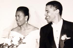 Барак и Мишель Обама поздравили друг друга с годовщиной свадьбы в Twitter