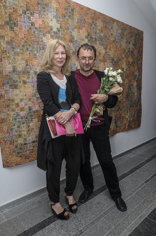 Дизайнер Лилия Пустовит и художник Павел Маков