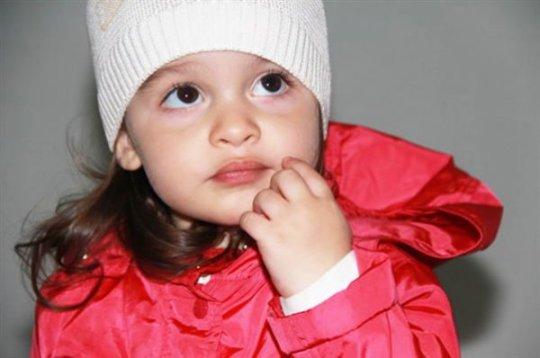 Дочь Ксении Бородиной, Маруся, похожа на маму