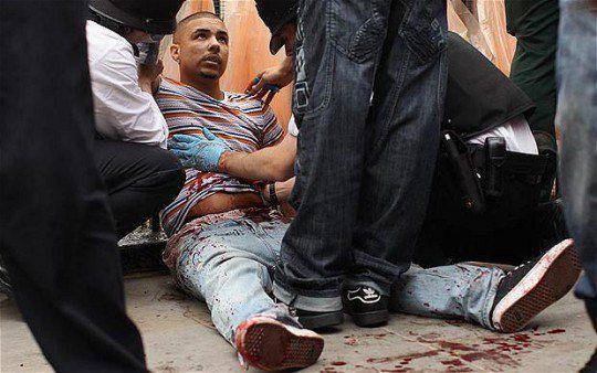 Жертва преступника, студент Рио Андре