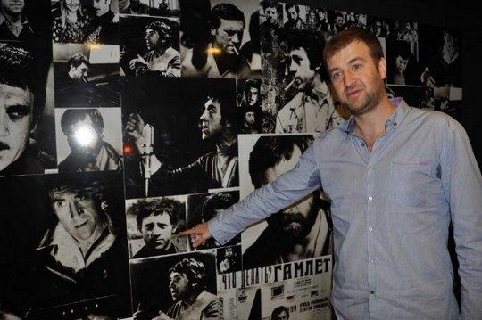 Алексей Хахлев очень любит Владимира Высоцкого