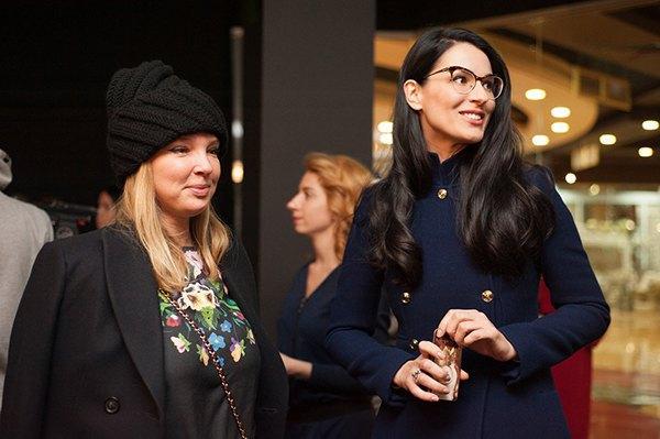 Ольга Навроцкая и Маша Ефросинина