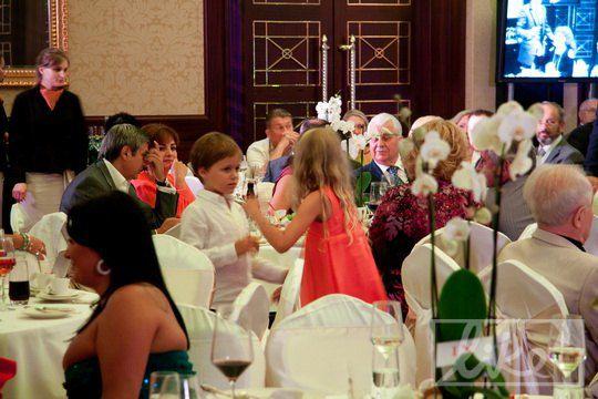 """Празднование проходило в ресторане гостиницы """"Intercontinental"""""""
