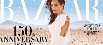 Роскошная Анджелина Джоли снялась в дикой природе в Намибии