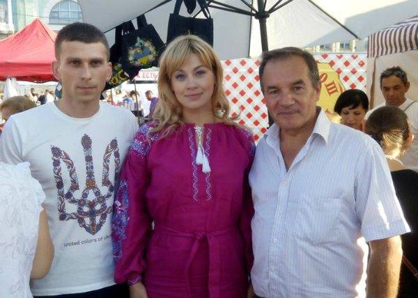 Мишель Терещенко (справа) и Елена Еськина