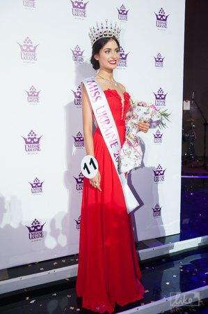 Победительница конкурса Кристина Столока