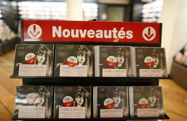 """""""Little French Songs"""" — четвертая пластинка в дискографии французской модели и певицы"""