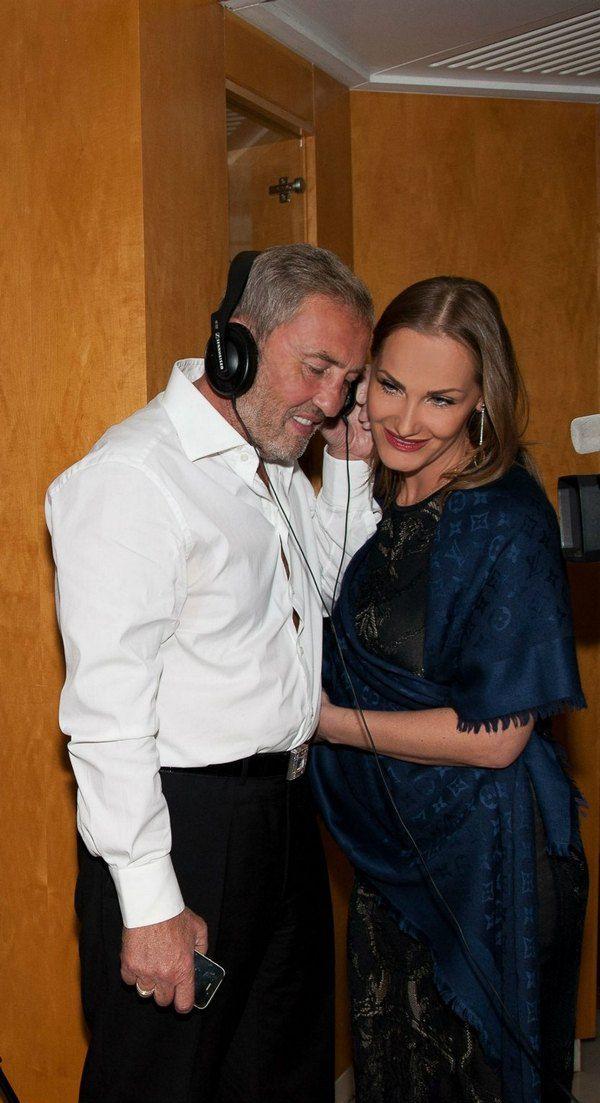 Леонид Черновецкий с супругой Еленой