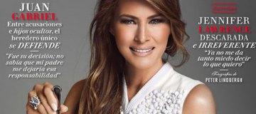 Мелания Трамп с горой драгоценностей появилась на обложке мексиканского глянца