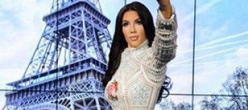 У Ким Кардашьян появилась собственная восковая фигура
