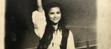 Ани Лорак показала, как выглядела в 15 лет