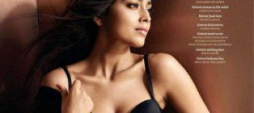 Индийская актриса Шрия Саран снялась в нижнем белье