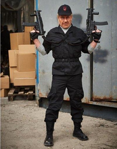 Степан Казанин в образе Чака Норриса