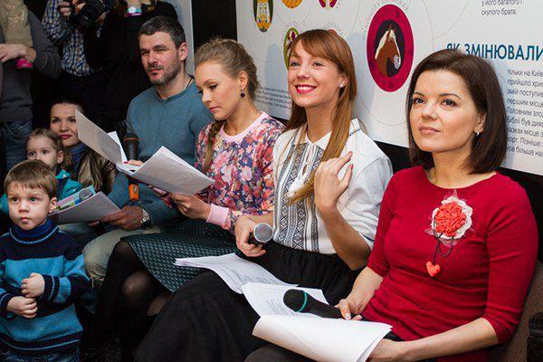 Арсен Мирзоян, Алена Шоптенко, Светлана Тарабарова и Маричка Падалко
