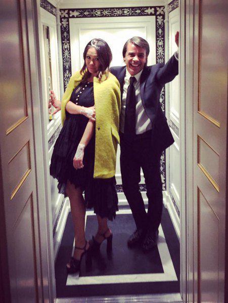 Лида Петрова с мужем