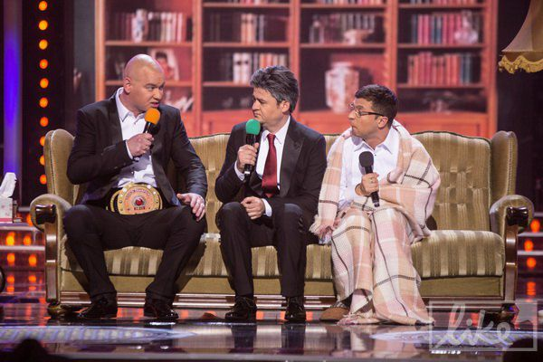 "Без шуток про Порошенко и Кличко сценки ""Квартала"" конечно не обошлись..."