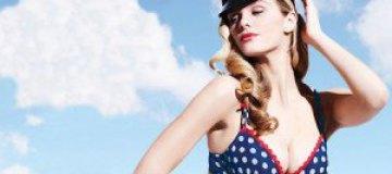 Бруклин Деккер рекламирует винтажное белье La Senza