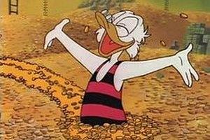 Скрудж Макдак возглавил список самых богатых вымышленных персонажей