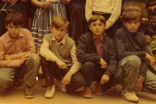 Молодой Билан с друзьями