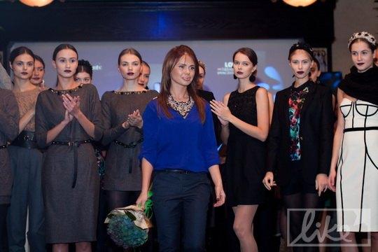 Ксения Мамедова с моделями