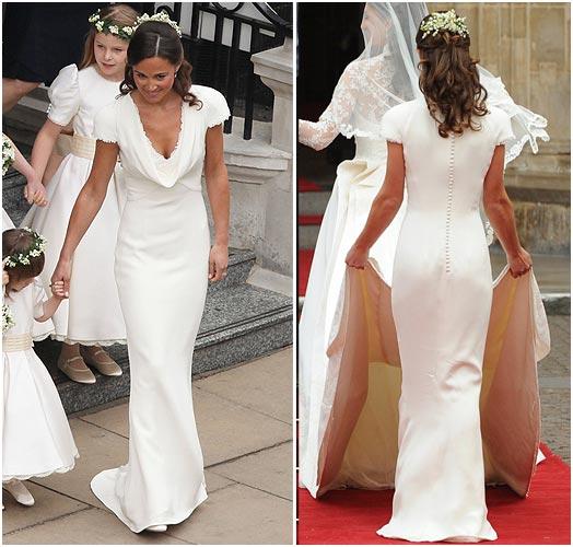 Знаменитое платье Пиппы Миддлтон