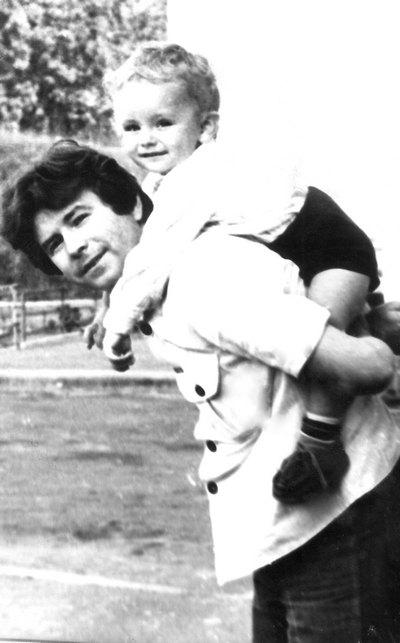 Михаил Поплавский с сыном Александром