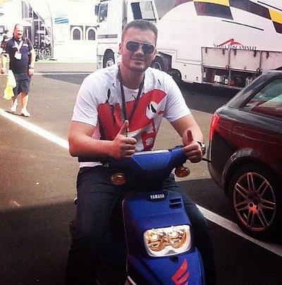 Народный депутат Виктор Янукович в Италии