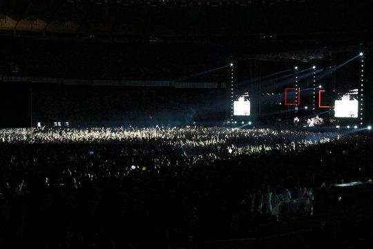 """НСК """"Олимпийский"""" на концерте Red Hot Chili Peppers"""