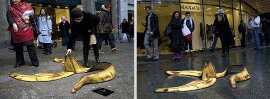 Оптика Rodenstock: Гигантская банановая кожура