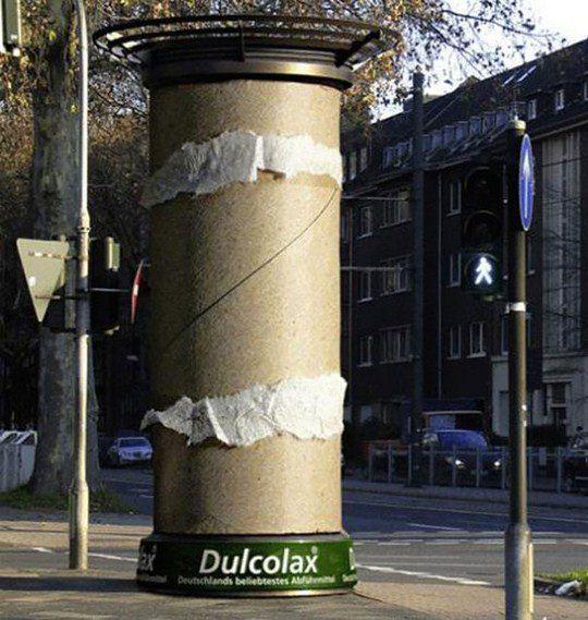 Слабительное Dulcolax: Туалетная бумага