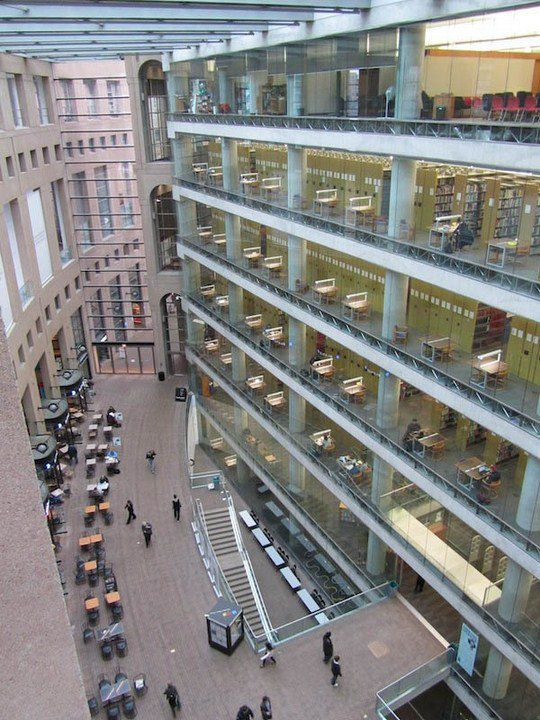 Общественная библиотека Ванкувера, Британская Колумбия, Канада