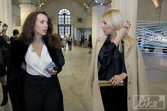 Кума Юлии Тимошенко Наталья Ветвицкая и дизайнер Ольга Громова