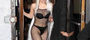 Леди Гага прогулялась по Нью-Йорку в трусах
