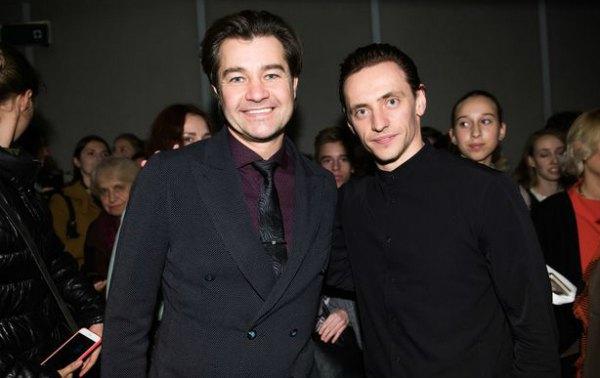 Министр культуры Украины Евгений Нищук и Сергей Полунин