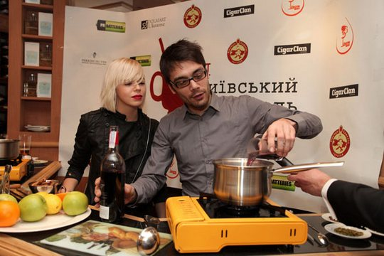 "Ната и Евгений Филатов после поехали на концерт ""Scissor Sisters"""